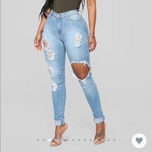 Fashion Nova HW Jeans